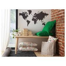 klAtta decoration stickers blackboard world 60x103 cm ikea ikea klAtta decoration stickers