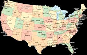 map of usa states denver usa map