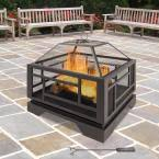 Pleasant Hearth Fire Pit - pleasant hearth 26 in solus fire pit ofw526s the home depot