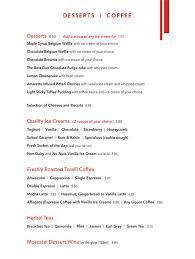 menu restobistro