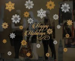 Merry Christmas Window Decorations by 26 Best Christmas New Year And Holiday Window And Wall Decals