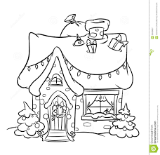 decorated house coloring pages house decor