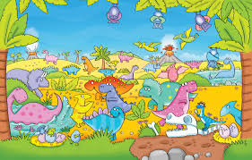 dinosaurs bats kids illustration dino eggs nest by kate
