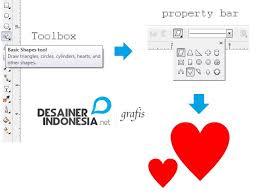 membuat gambar transparan di corel draw x7 cara membuat logo hati dengan coreldraw zamrud graphic