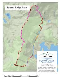 Race Map Squam Ridge Race 2017 Squam Lakes Association