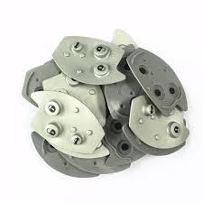 1pcs lot replacement 3 button key rubber pad fit for citroen xsara