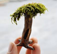 how to sculpt a fairy garden tree in clay youtube