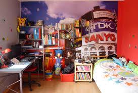 chambre de londres chambre enfant déco gris et blanc et rangements pratiques