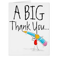 big thank you card zazzle