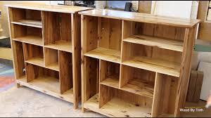 Chestnut Bookcase A Set Of Matching Bookcases Chestnut U0026 Hickory Youtube