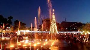 city lights at town center dancing lights at valenzuela town center youtube