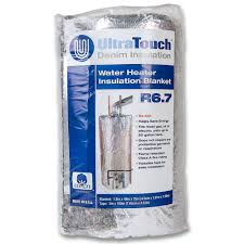 ultratouch 48 in x 75 in denim insulation hot water heater denim insulation hot water heater blanket
