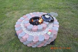 Concrete Fire Pit Exploding by 50 Fire Pit Using Concrete Tree Rings 5 Steps With Pictures