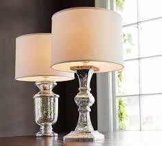 everleigh mercury glass lamp base pottery barn