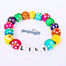 jewelry party favors personalized children s jewelry name bracelet great gift
