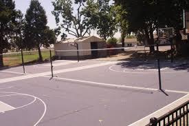 backyard basketball court dimensions half image of clipgoo
