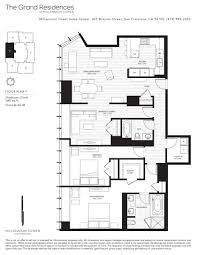 13 best millennium tower sf floor plans images on pinterest