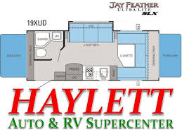 Jayco Travel Trailers Floor Plans by 2014 Jayco Jay Feather Ultra Lite Slx 19xud Travel Trailer
