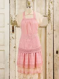 romantic embellished apron darkrose attic sale linens romantic embellished apron darkrose