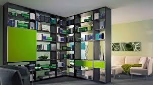 modular bookcase corner contemporary wooden arrivo die