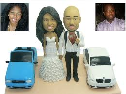 cake toppers bobblehead wedding cake topper bobbleheads wedding cake idea