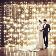 wedding backdrop fairy lights 6x3m 600led led christmas light fairy lights lighting party