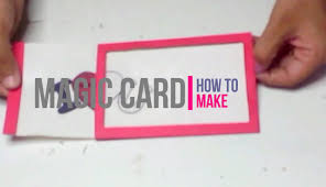 how to make magic card paper craft diy by brain washer