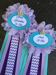 one grandma to be pin purple baby shower under the sea