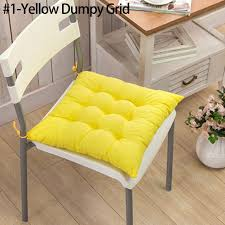 tie on chunky seat chair cushion pads for dining room garden