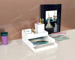 Acrylic Desk Organizers Acrylic Office Organizers Acrylic Desk Accessories Office Design