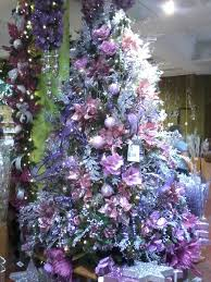 themed christmas trees and on pinterest purple silver tree idolza