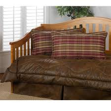 delectablyyours com gatlinburg faux leather daybed bedding