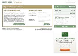 Barnes And Noble Member Card Barnes U0026 Noble U0027s Checkout Process Usability Benchmark Score 474