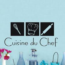 decoration du cuisine lovely cuisine du chef wall decals wall stickers home decor decal