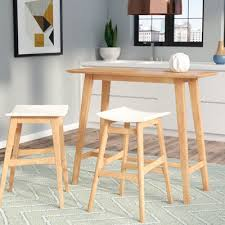 trent design pub tables bistro oak pub tables bistro sets you ll wayfair