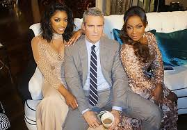 phaedra parks hair weave porsha williams andy cohen and phaedra parks at the real