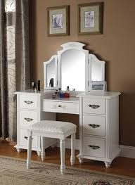 Corner Makeup Vanity Set Bathroom Amazing Bedroom Fabulous Furniture Makeup Vanity Sets