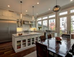 modern kitchen brooklyn niche modern pendants find a home in brooklyn