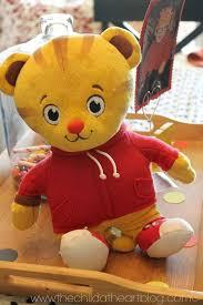 daniel tiger plush toys daniel tiger birthday party 2 free printables child at heart blog