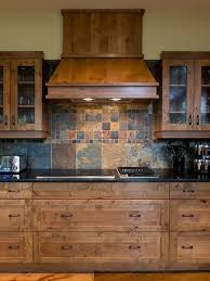 Slate Backsplash Houzz - Slate kitchen backsplash