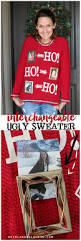 easy ugly sweater ugliest christmas sweaters holidays and xmas