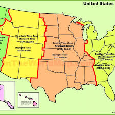 usa map with time zones and cities time zones mexico map map of usa