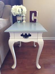 Charming End Table Redo Ideas 67 Home Decorating Ideas With End