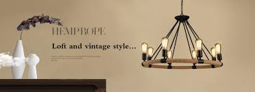 vintage wood metal pendant lamp antique candle resin suspension