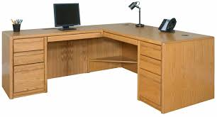 Computer L Desk Choose From Matching Pieces Furnish Your Entire Office
