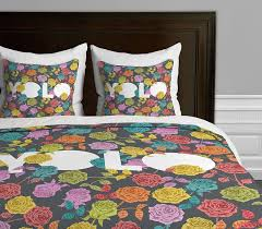 deny designs bianca green yolo duvet cover twin twin xl size