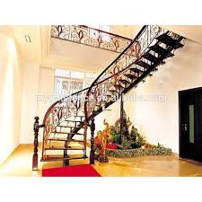 Iron Stair Banister Curved Wrought Iron Stair Railings Curved Wrought Iron Stair