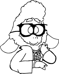 zootopia sheep coloring page wecoloringpage