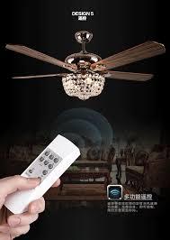 popular crystal fans lights buy cheap crystal fans lights lots