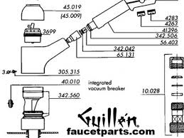 kitchen faucet replacement parts moen shower valve repair diagram